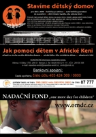 Nadační fond - ONE MORE DAY FOR CHILDREN (Keňa, Kenya)